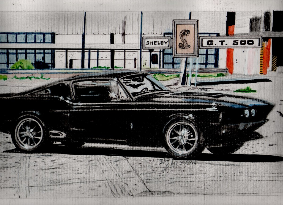 1968 Shelby GT500 AM Pro Touring