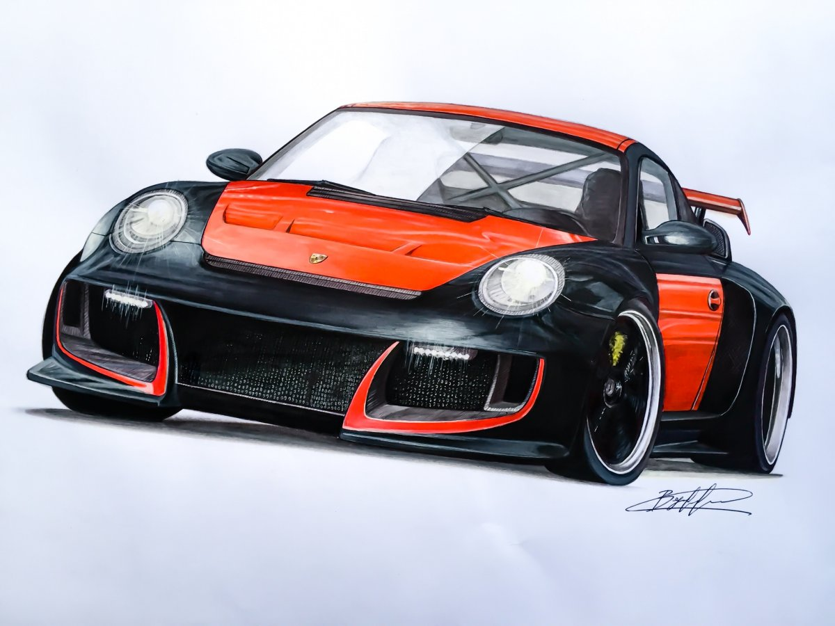 Porsche 911 GT2 Need for Speed Undercover