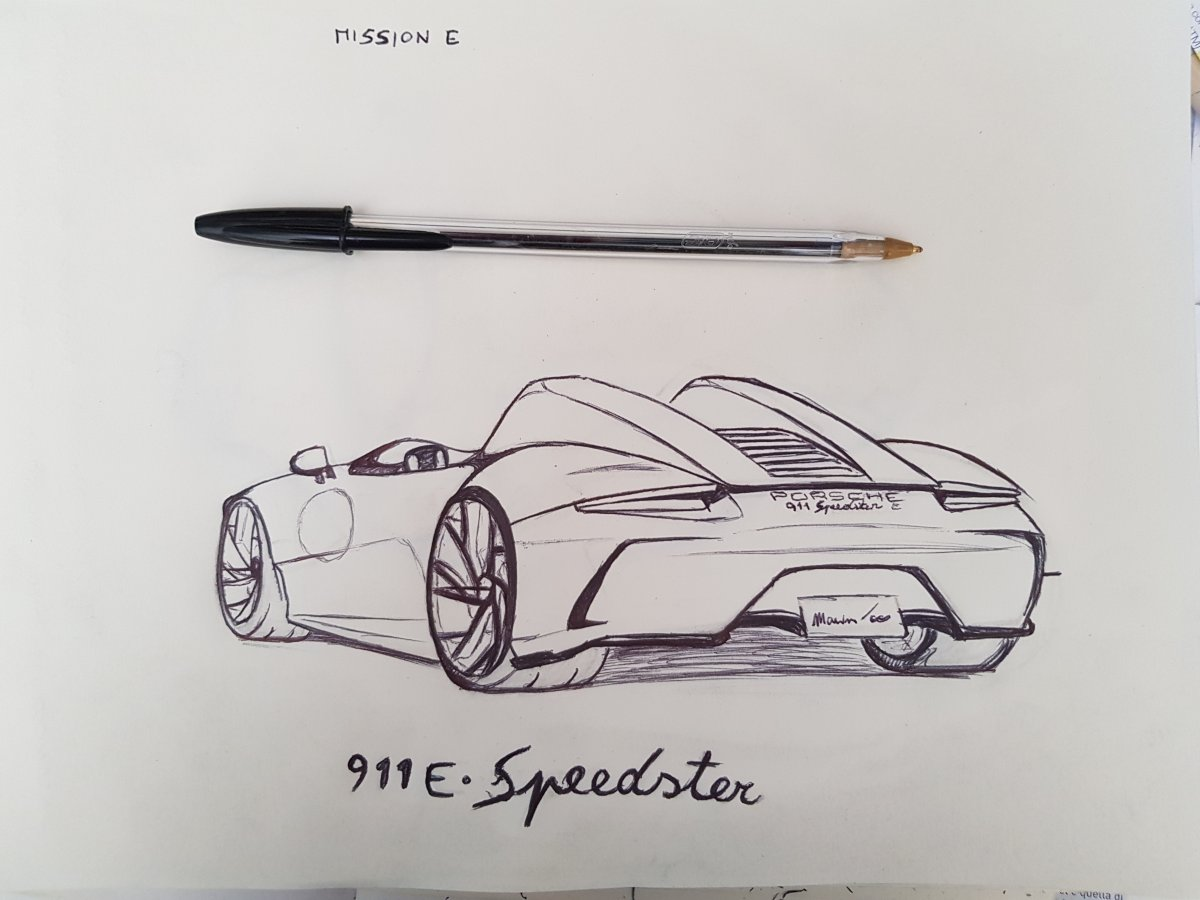 911 Mission-E Speedster