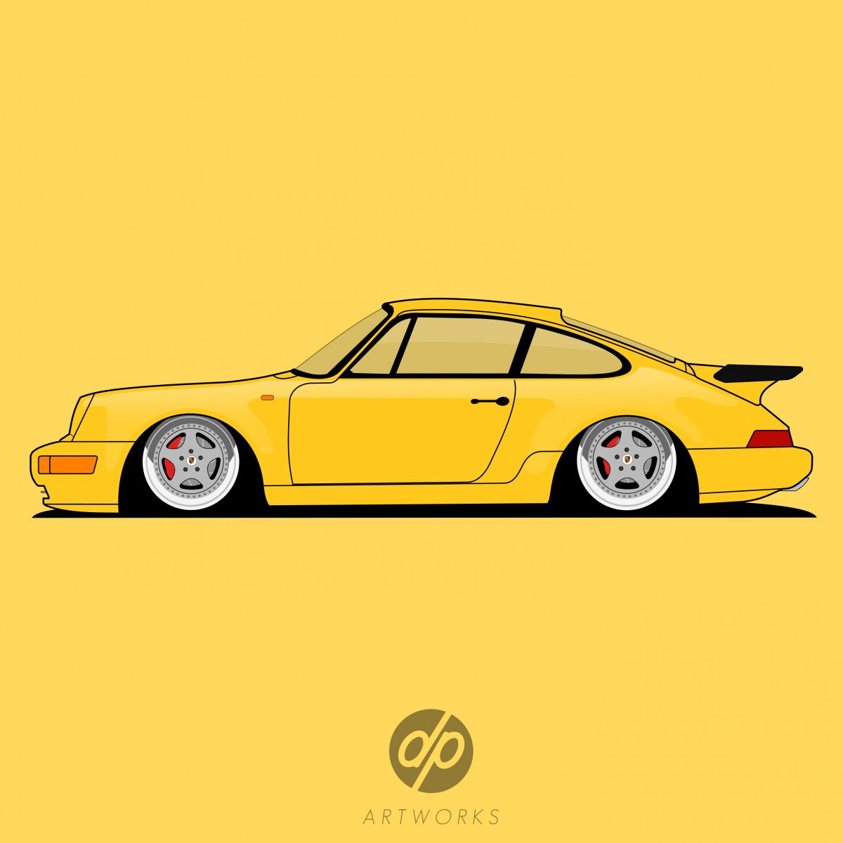Porsche 964 Turbo - dp artworks