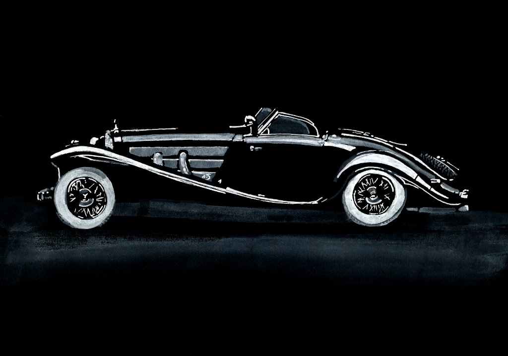 Mercedes-Benz 540 Special Roadster