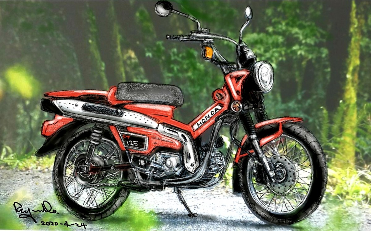 HONDA CT125 BIKE
