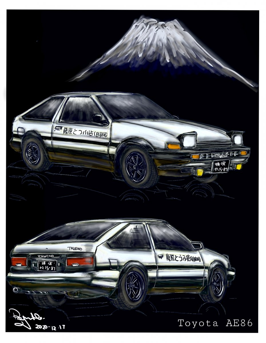 The Legend is back! (Toyota AE86)