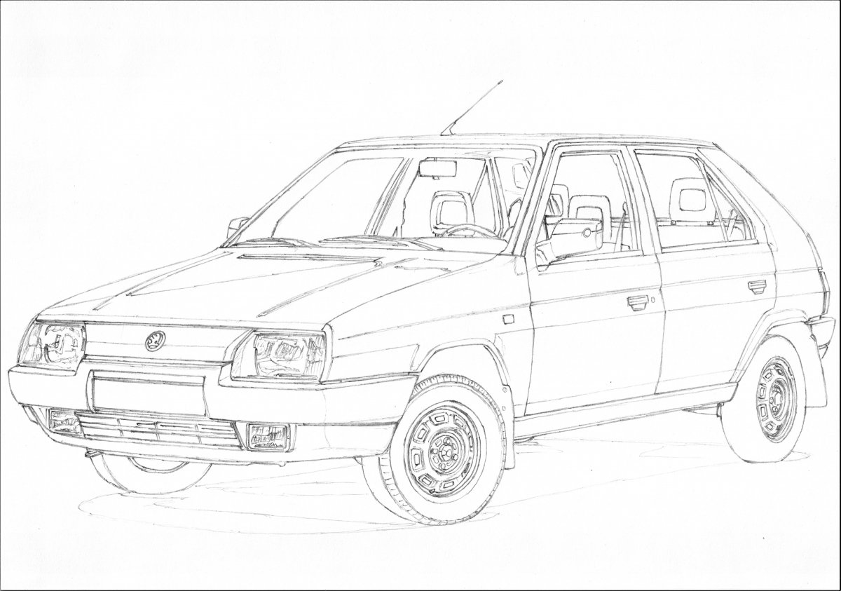 Skoda Favorit part 1