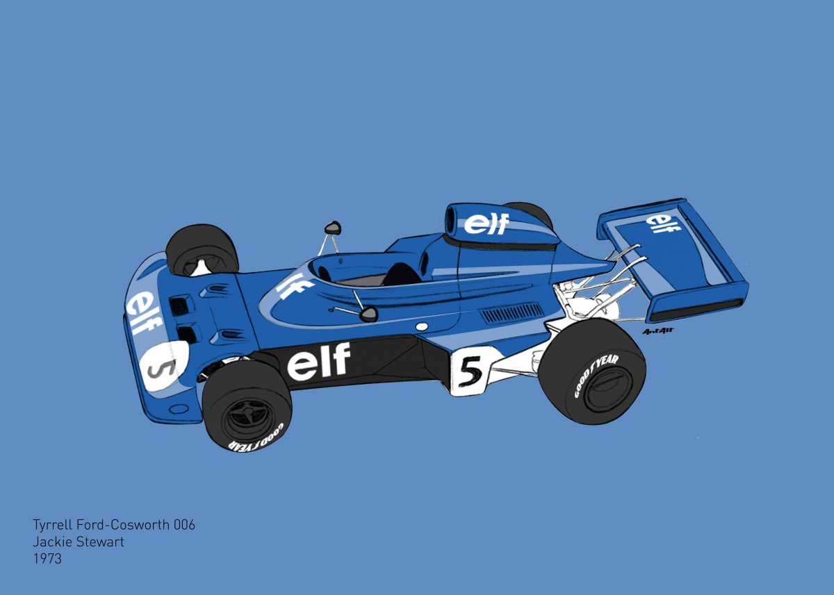 Tyrrell Ford-Cosworth 006