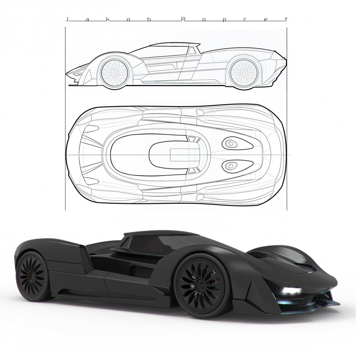 CONCEPT SUPERCAR JR-024