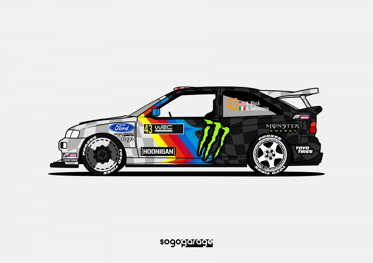 90's Ford Escort RS Cossie V2