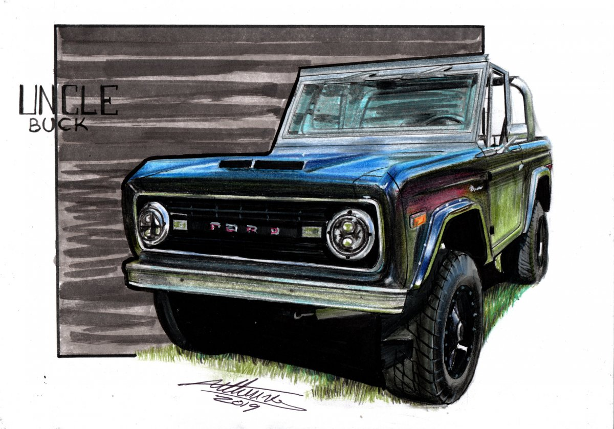 Ford Bronco UNCLE BUCK