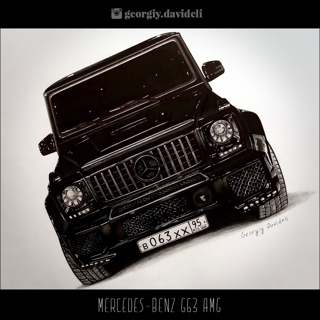 Mercedes-Benz G63 by Georgiy Davideli