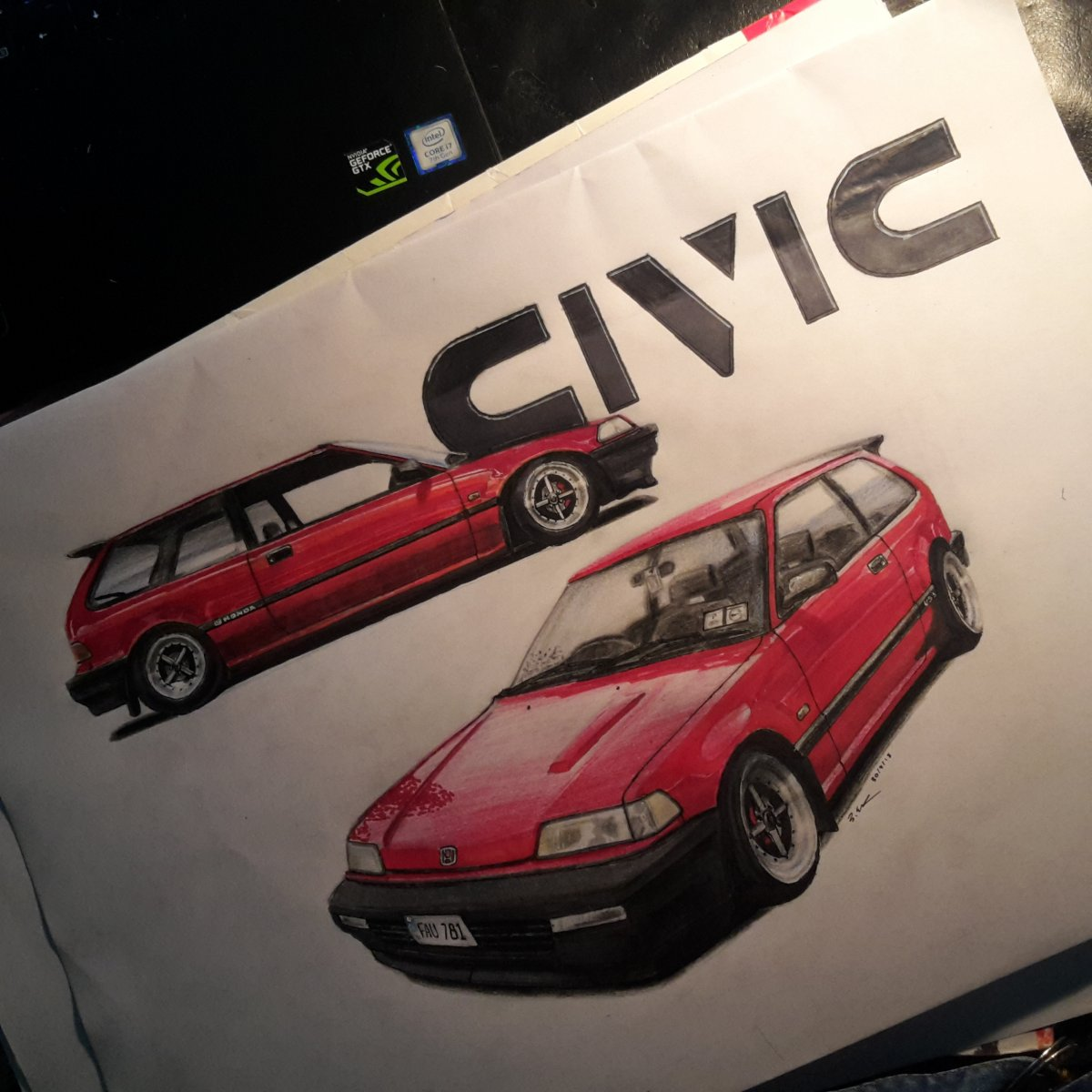 '89 Honda Civic EF