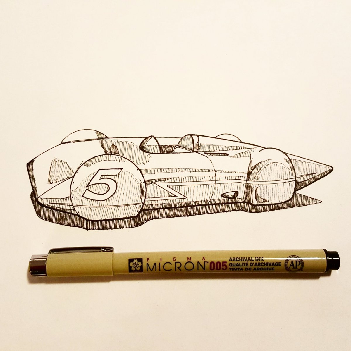 SoCal Streamliner Sketch