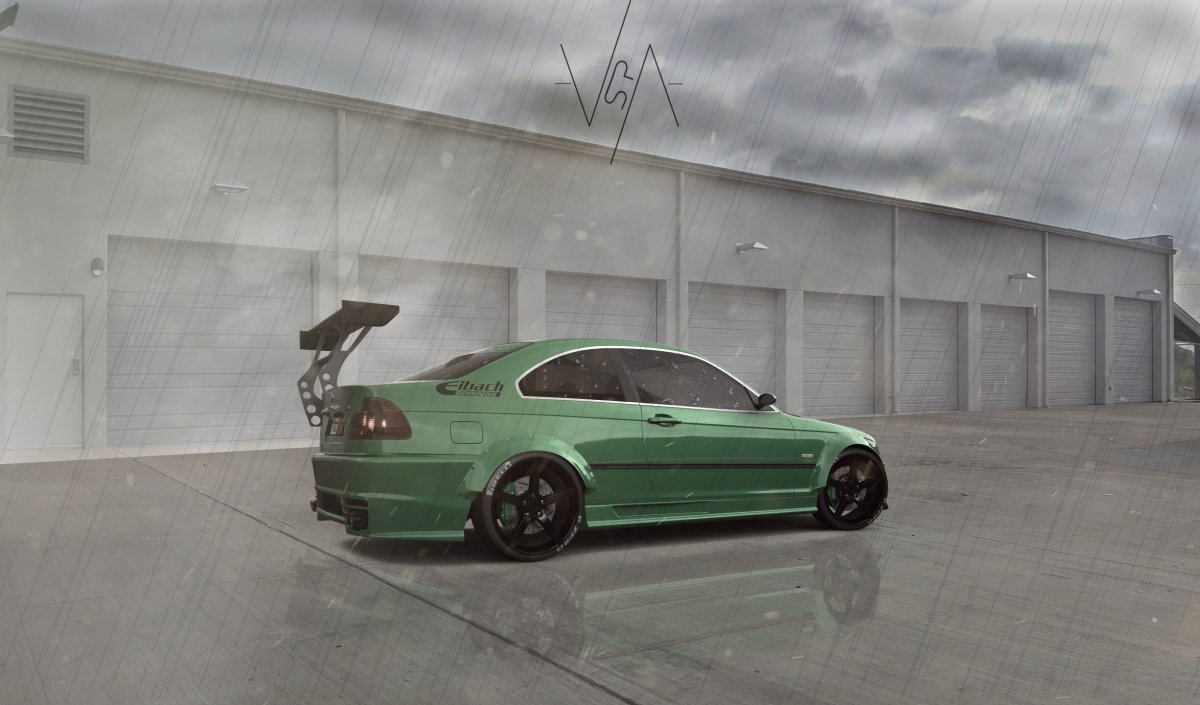 BMW M3 Coupe racing edition