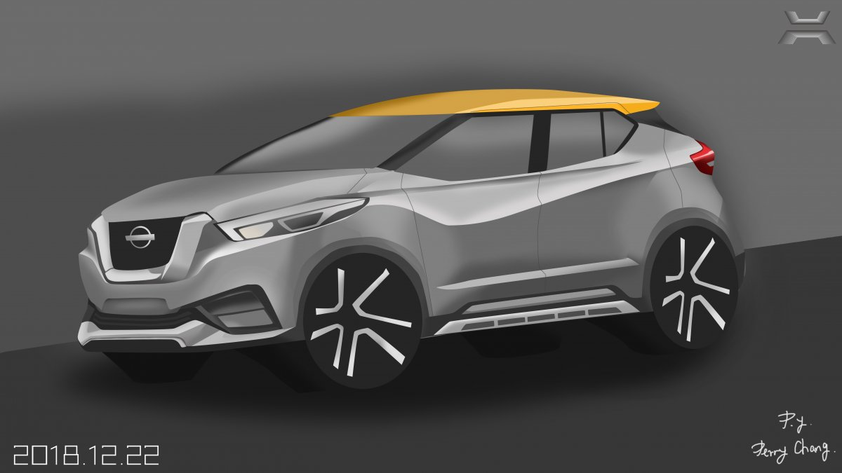 Perry Chang practice project : Nissan Kicks