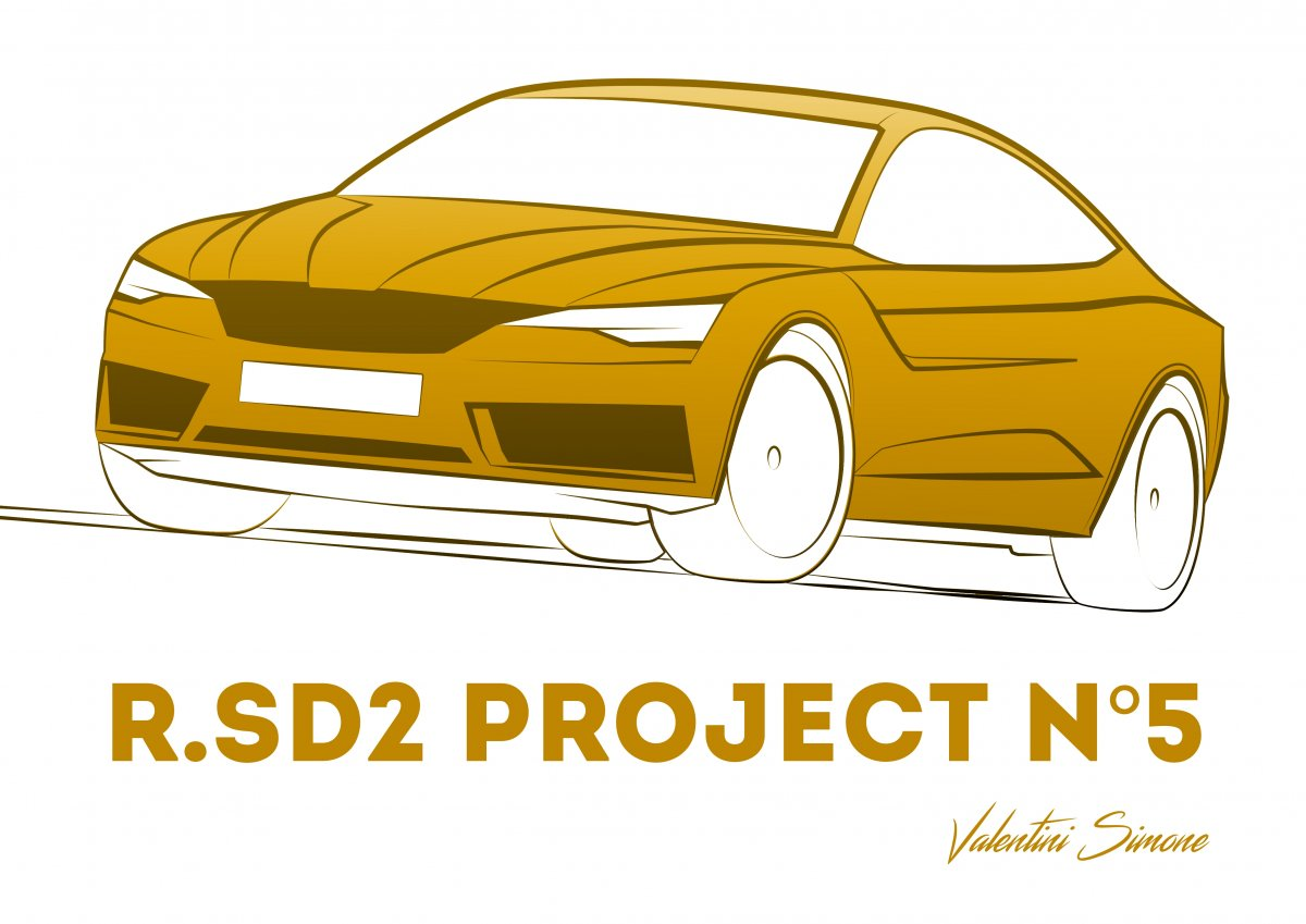 R.SD2 PROJECT N°5 GOLD LINES