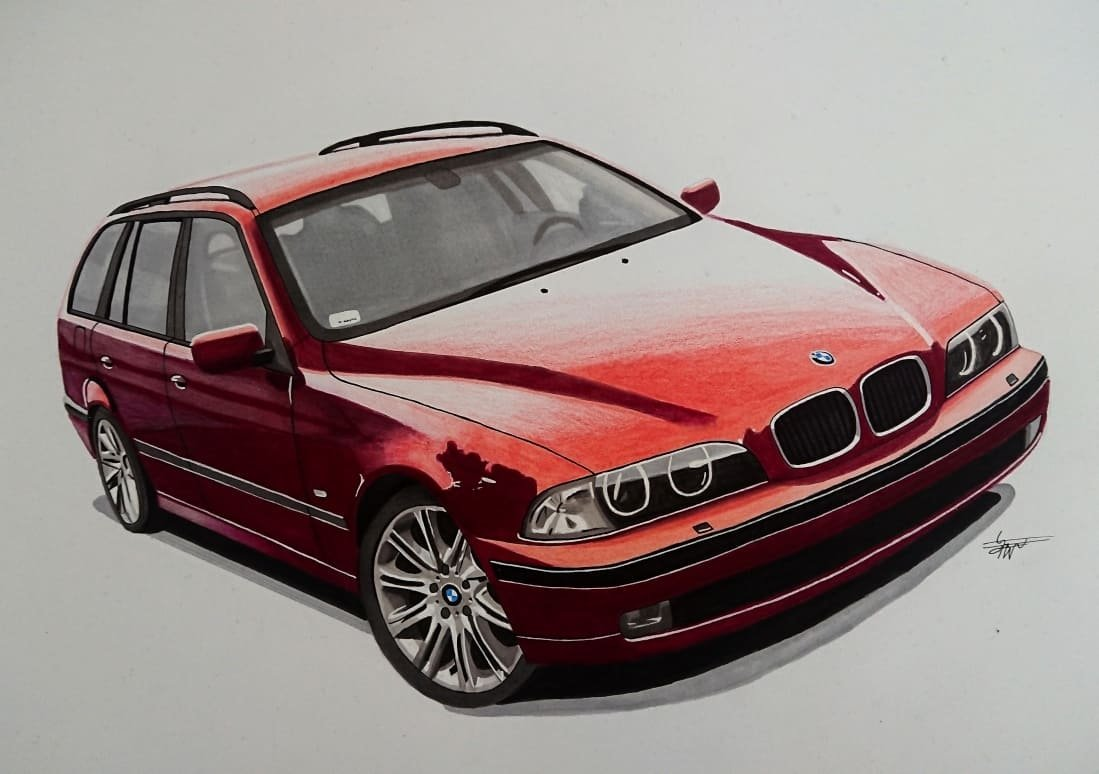 Bmw E39 Touring Filip Vardanyan Draw To Drive