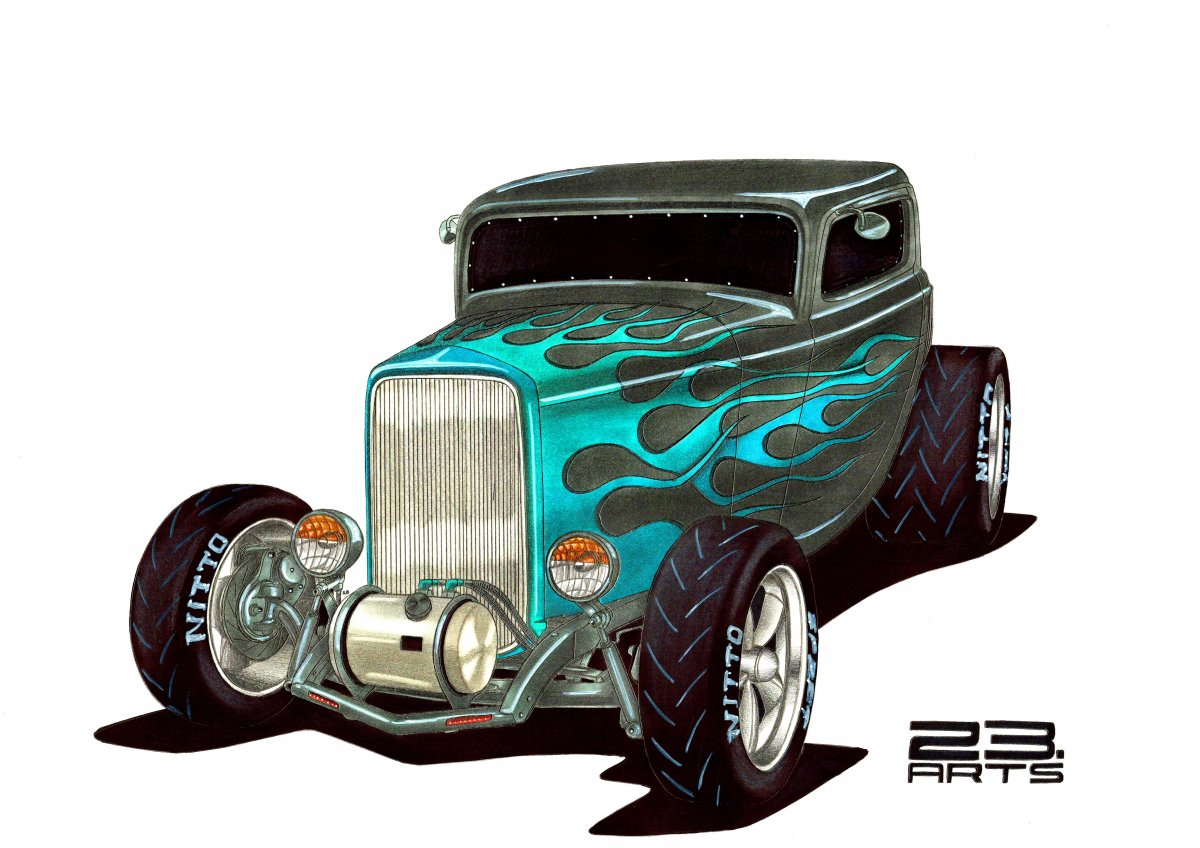 STYLISH HOT ROD