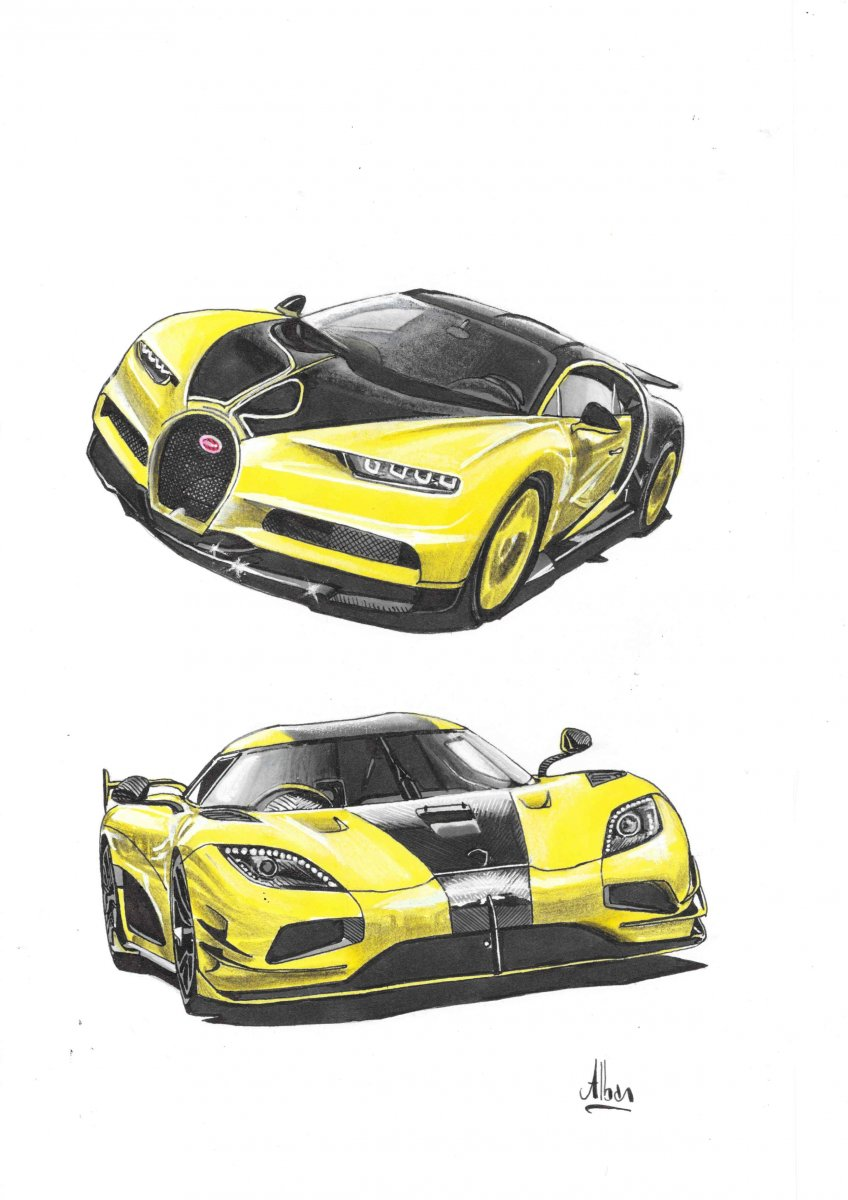 Chiron & Agera RS