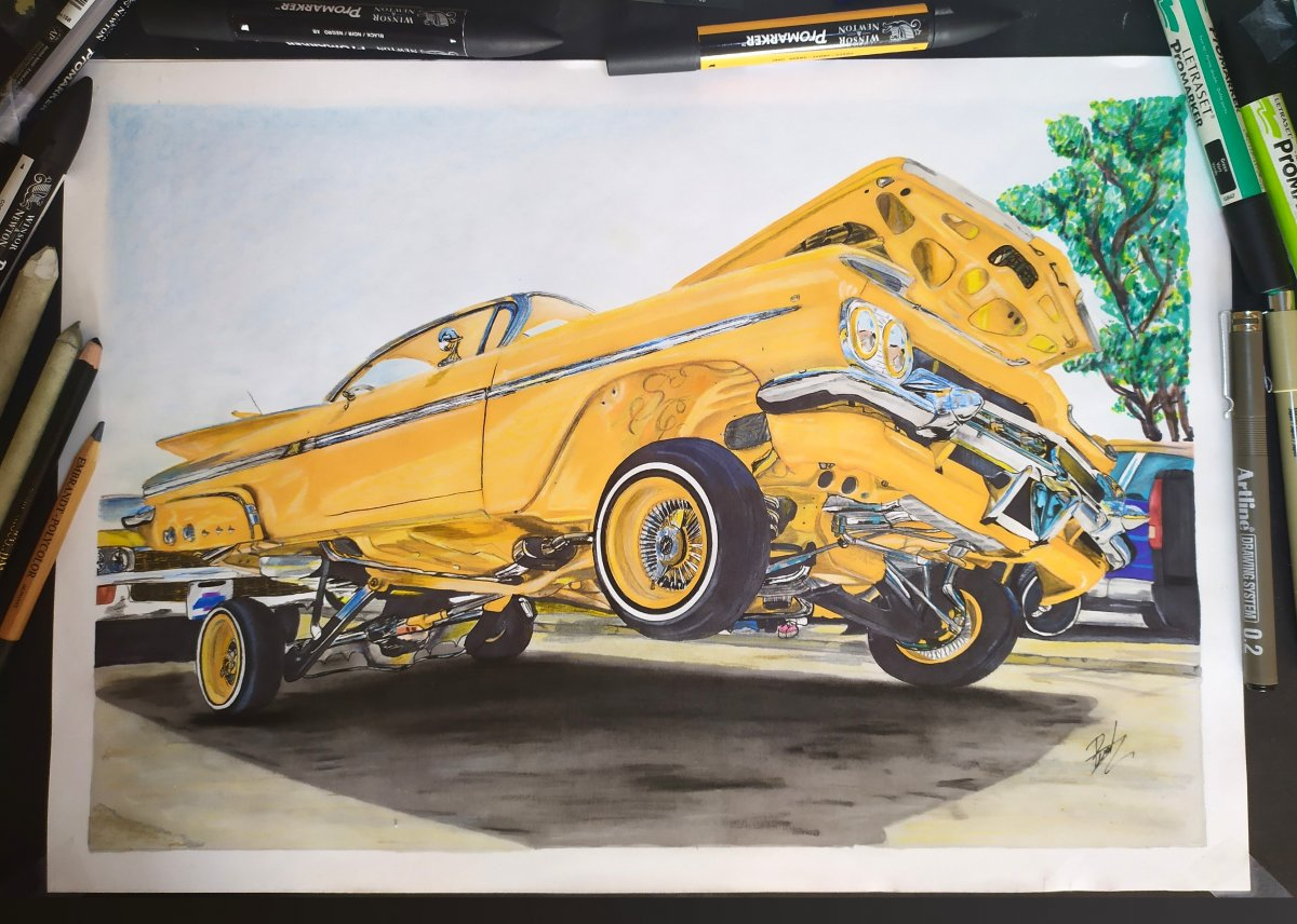 Lowrider drawing