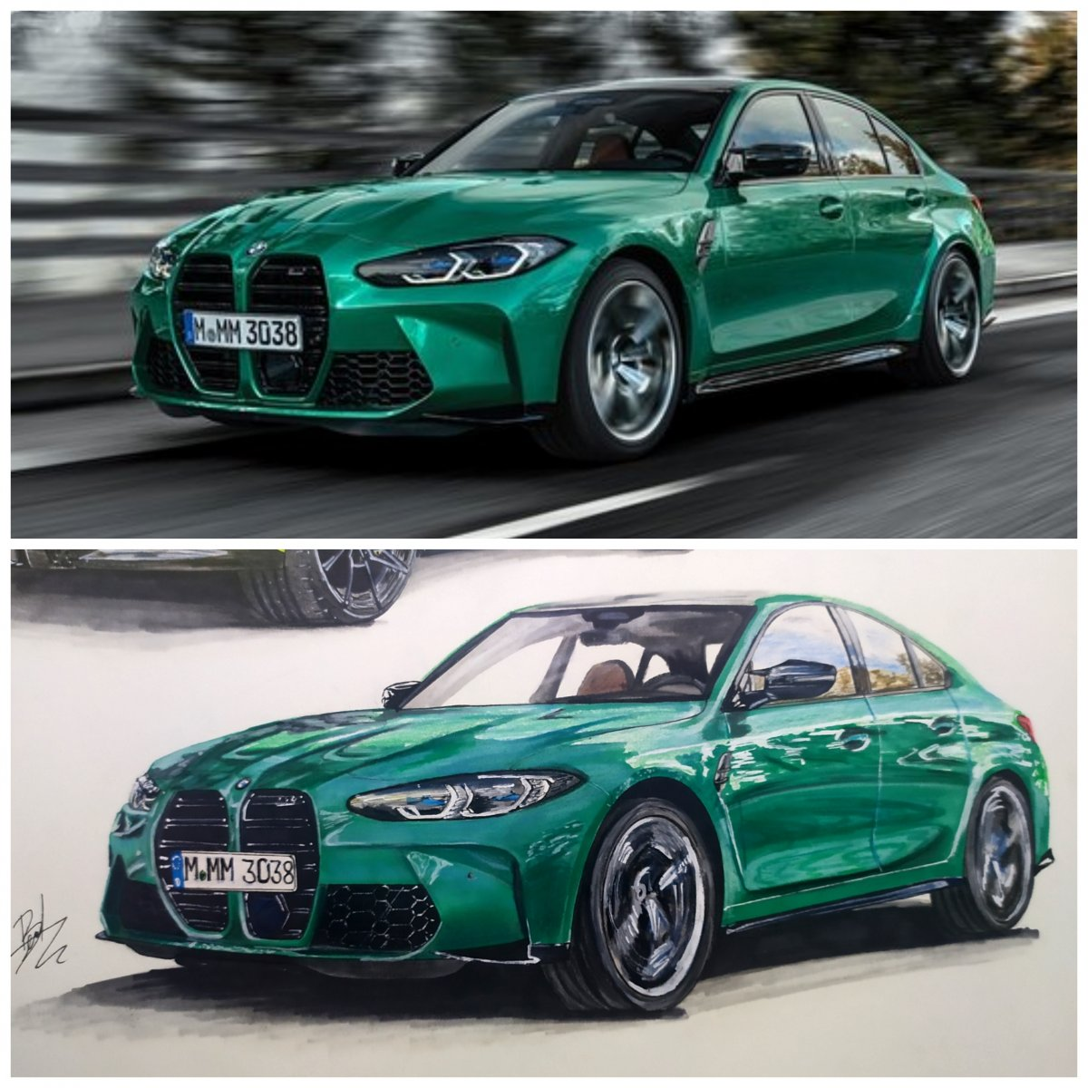 New Bmw M3 competition