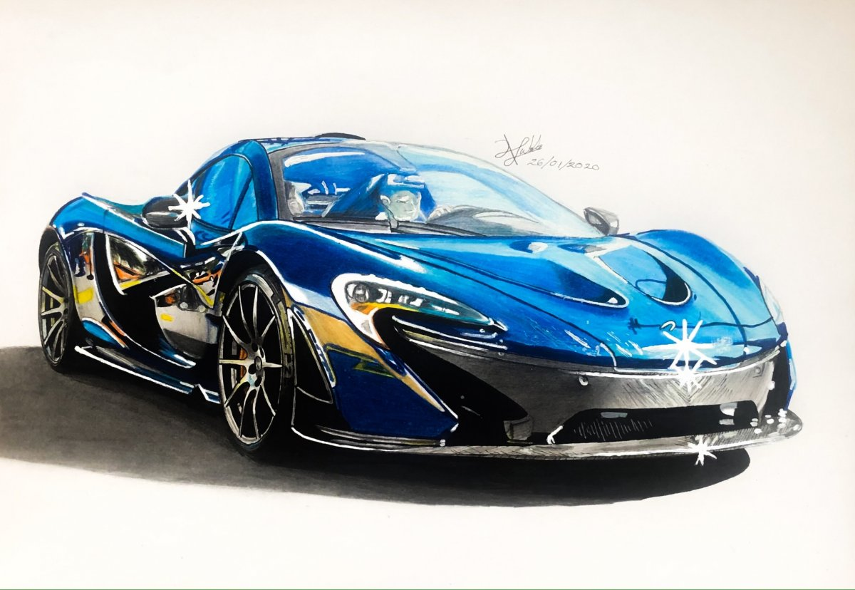 McLaren P1 full carbón