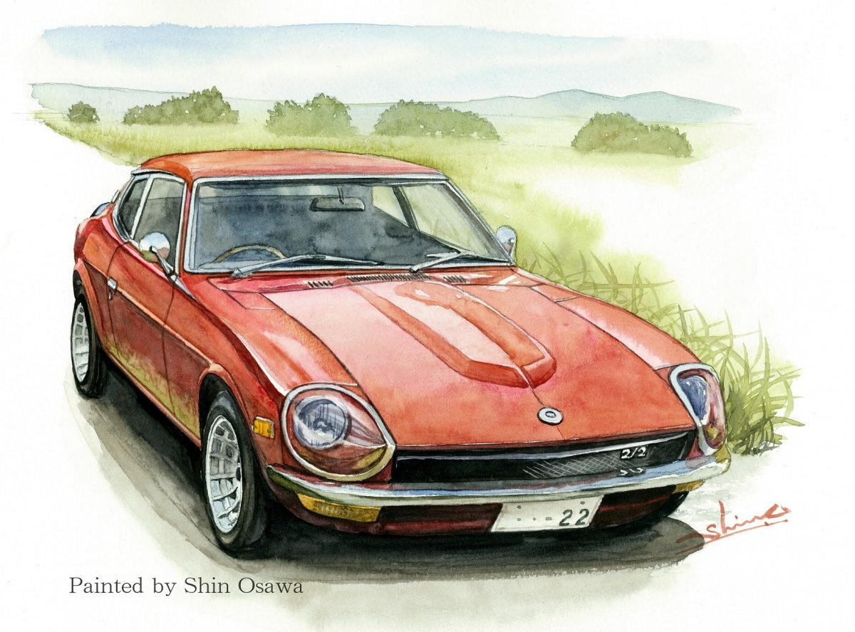 NISSAN S30 Fairlady Z 2by2