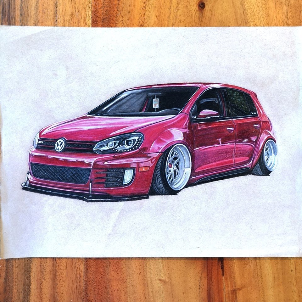 Volkswagen Gti Wide Body