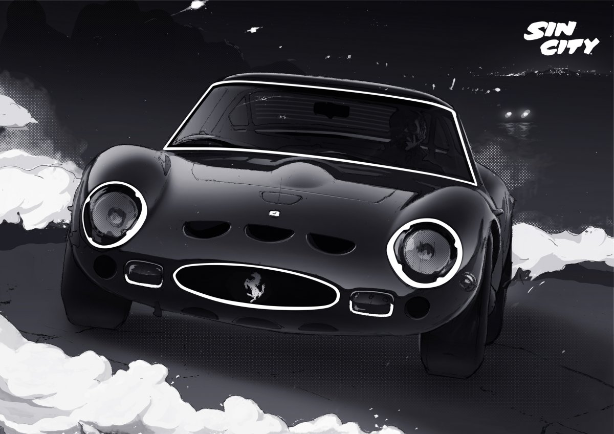 1962 Ferrari 250 GTO for Sin City