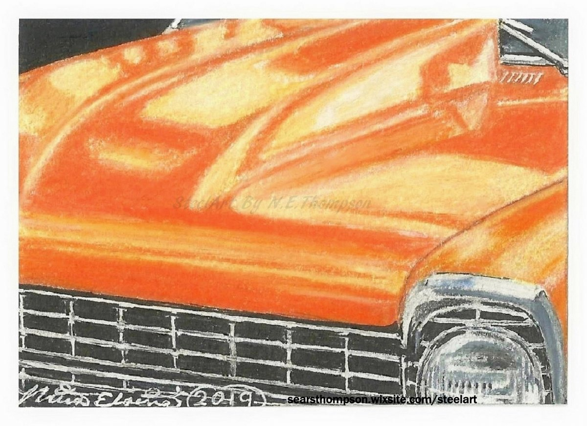 Classic Car ACEO #5